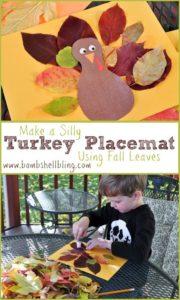 Turkey Leaf Placemat