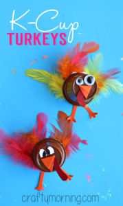 Upcycled Thanksgiving Craft