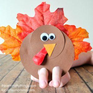 Turkey Finger Puppets Craft
