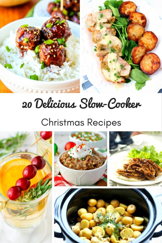 Don't create more more work than you need to during the holidays. Instead, try these 20 slow cooker Christmas recipes to make delicious foods and drinks for your family and friends!