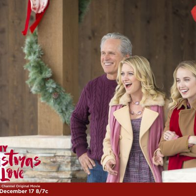 """Tune-in to Hallmark Channel's """"My Christmas Love"""" this Saturday, Dec. 17th at 8pm/7c! #CountdowntoChristmas"""