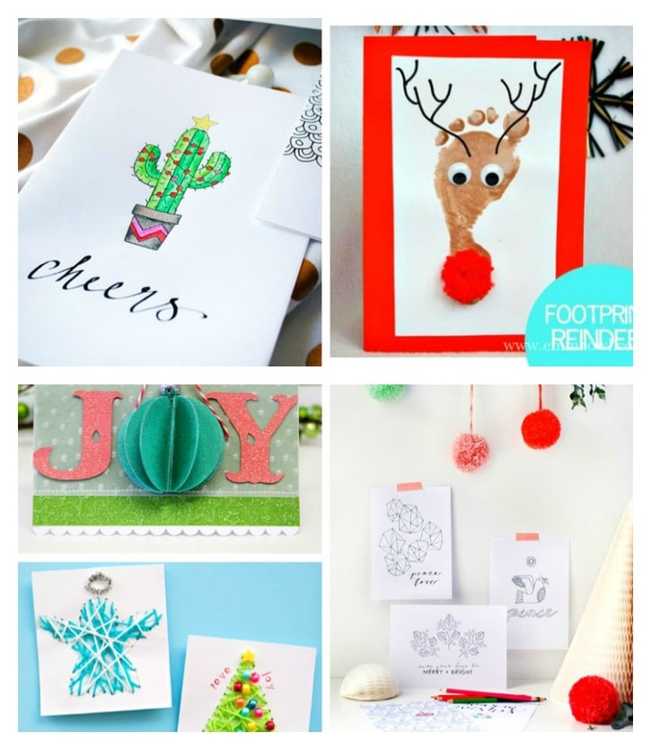Don't send another boxed card. Show your loved ones how much they mean with a little handmade love. Check out 20 DIY Ideas to Make Awesome Christmas Cards!