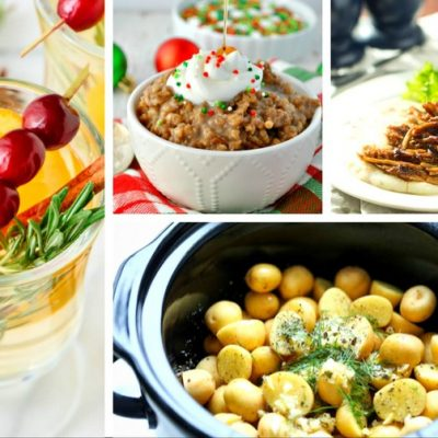 20 Christmas Slow Cooker Recipes – Save Time During the Holidays