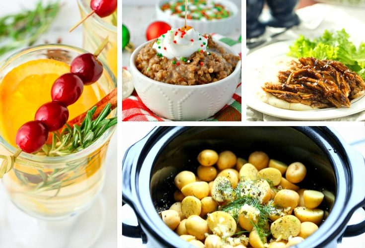 20 Slow Cooker Christmas Recipes