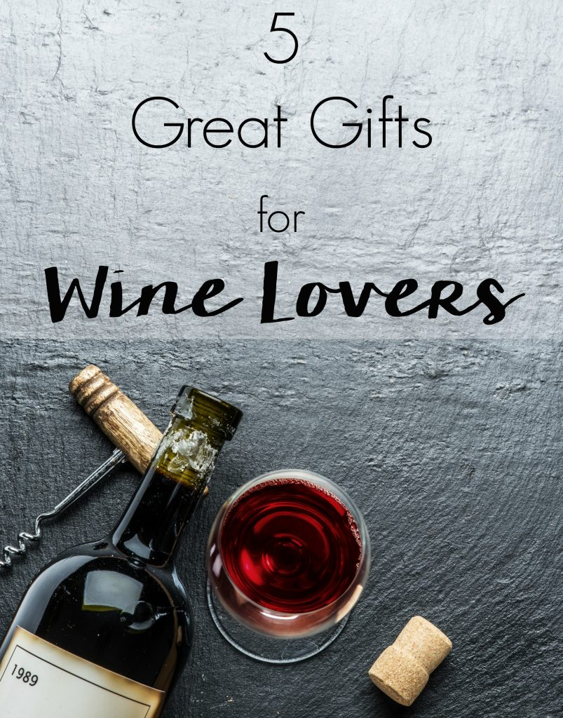 Don't leave things to chance. Check out these Christmas Gift Ideas for the wine lover in your life with these 5 Great Gifts for Wine Lovers!