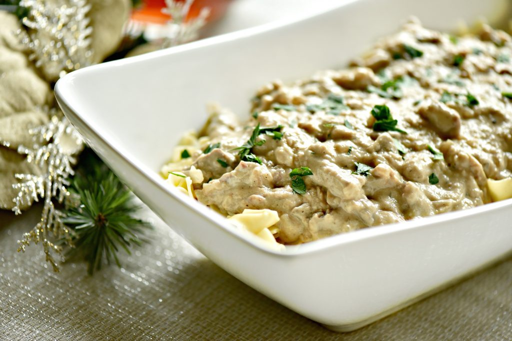The past meets the present with this 60s favorite, Easy Homemade Beef Stroganoff Recipe with Sour Cream, that's kid approved for this generation.