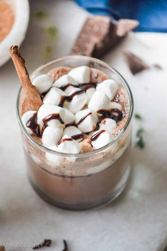 Slow Cooker Hot Chocolate with Chai