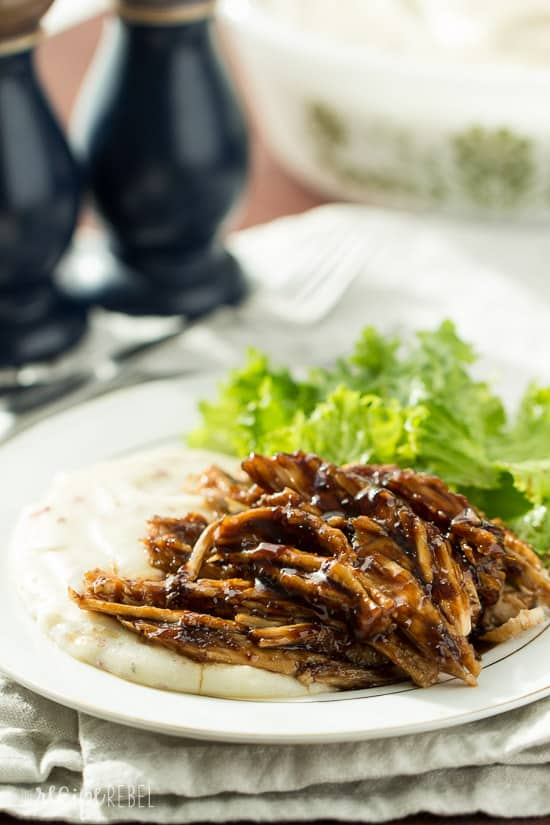 Slow Cooker Apricot Balsamic Turkey