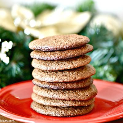 Soft & Chewy Chocolate Cookies Recipe