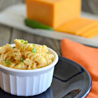 Spicy & Creamy Macaroni & Cheese Recipe