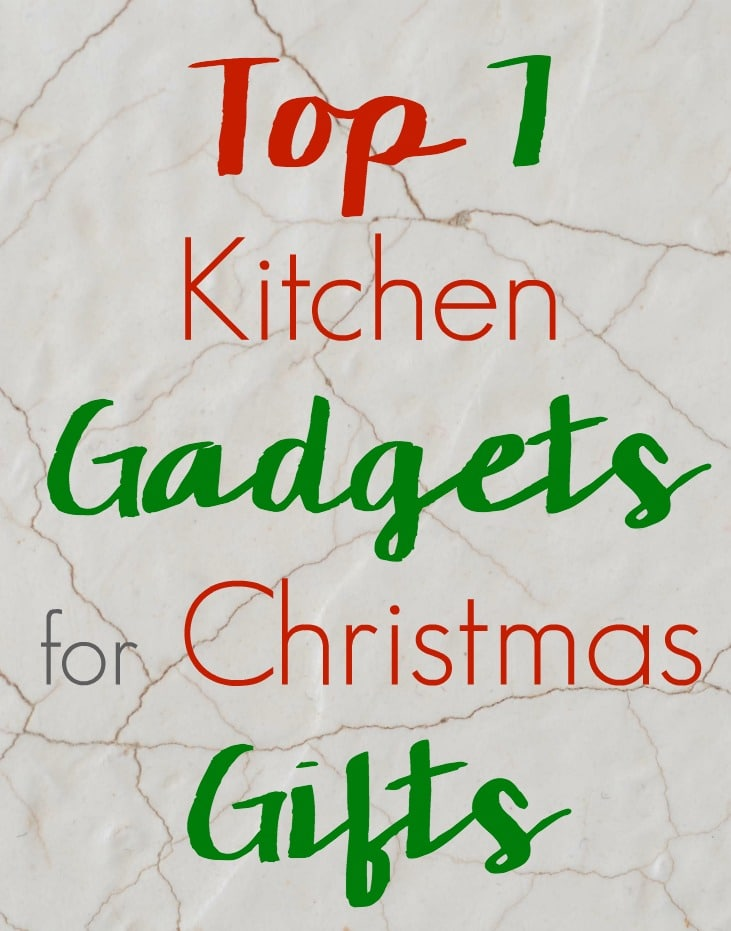 Top 7 Kitchen Gadgets for Christmas Gifts: Gift Ideas for ...
