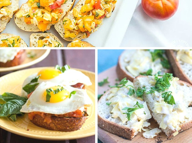 You'll never have to stress about entertaining when you have this amazingly delicious assortment of 15 Easy Bruschetta Appetizer Recipes ready and waiting!