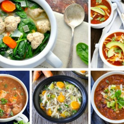 20 Healthy & Delicious Slow Cooker Soup Recipes