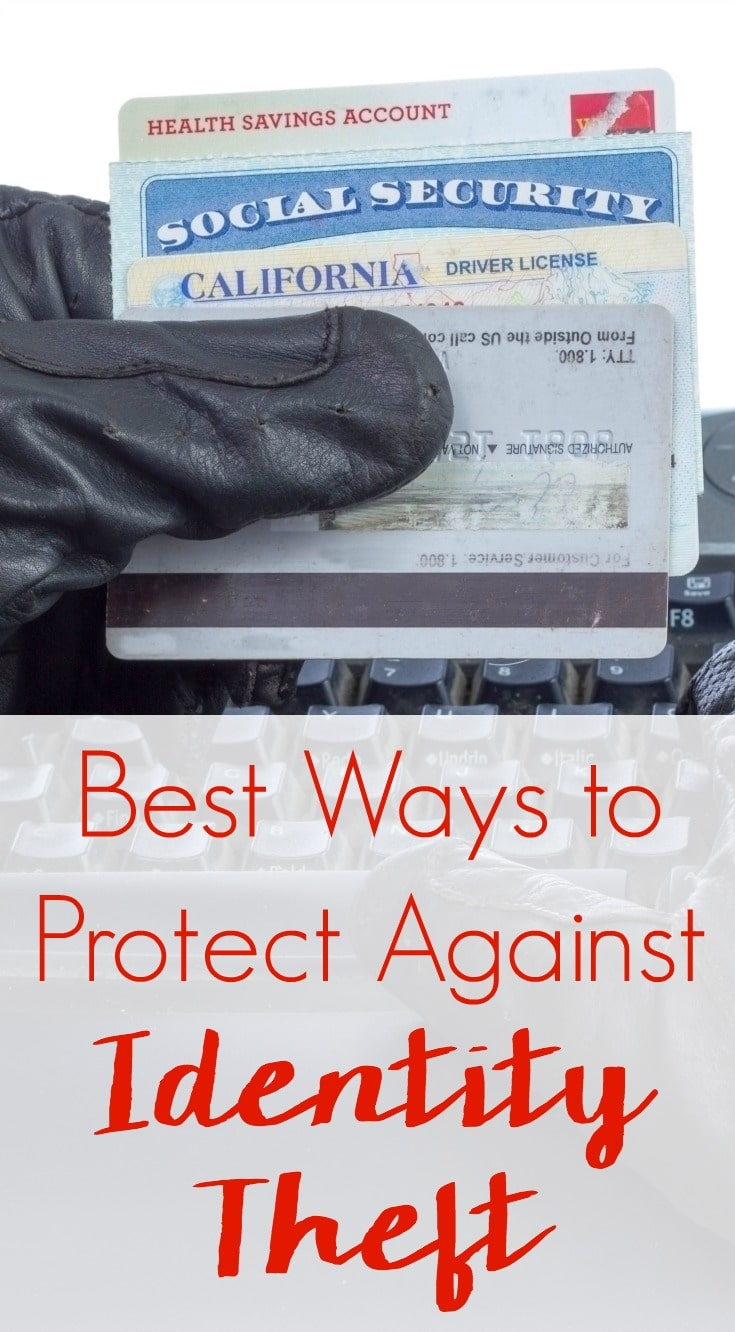 Such practical tips that I don't always follow. Protect yourself at tax time and year round with the 7 Best Ways to Protect Against Identity Theft.