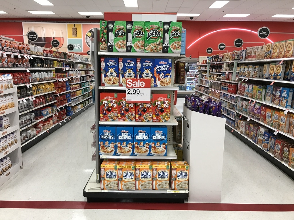 Grab all your favorite Kellogg cereals at Target to make the easiest kid friendly trail mix!
