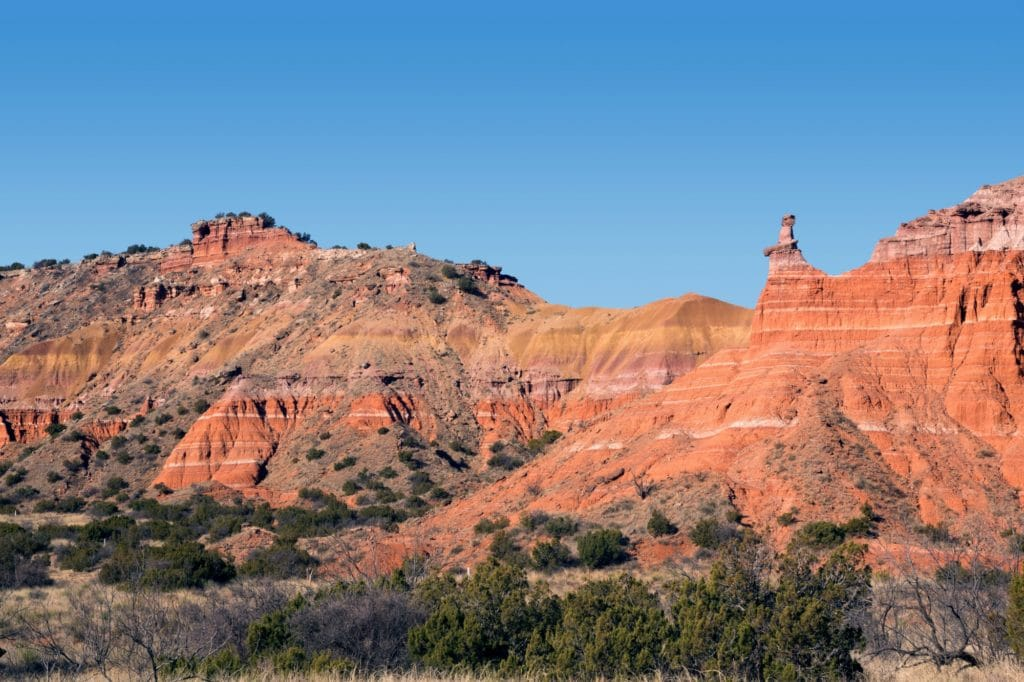 Palo Duro Canyon State Park. Everything's bigger in Texas...even the camping. Discover the best hidden gems in Texas in the 5 MUST VISIT camping spots in Texas!