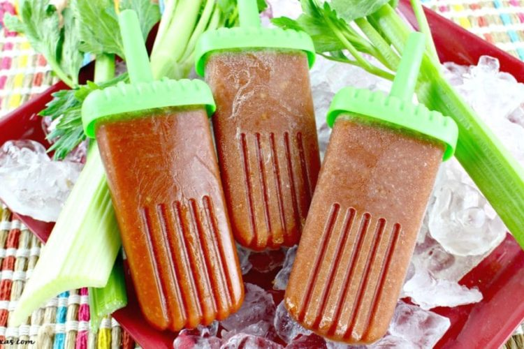 Warning These are Addictive: Boozy Bloody Mary Ice Pops Recipe
