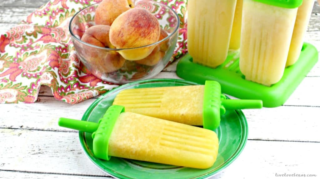 Ice pops aren't just for kids anymore. Cool off this summer with this Frozen Peach Bellini Ice Pops recipe...for adults only!