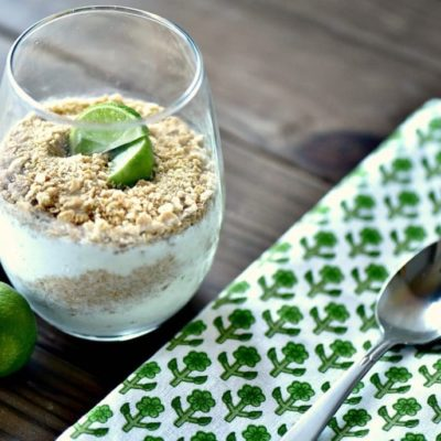 Pucker Up: Key Lime Pie Ice Cream Parfaits Recipe