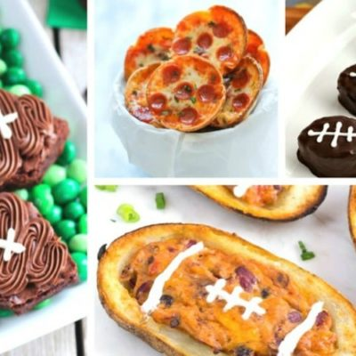 25 Best Football Game Recipe Ideas