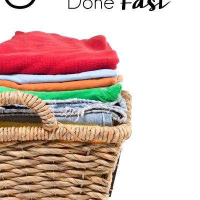 5 Tips to Get Laundry Done Fast