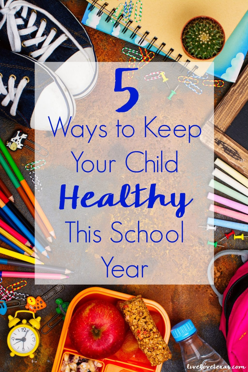 Avoid absences and unnecessary sickies with these 5 Ways to Keep Your Child Healthy This School Year. Preemptive moves to keep germs away!