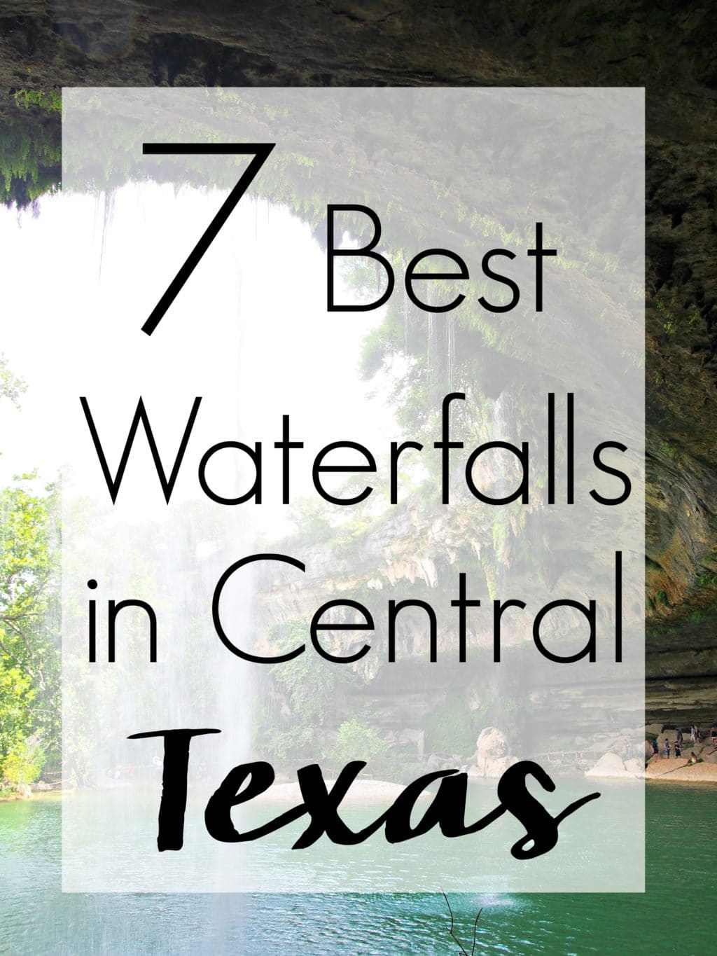 You don't have to travel far to cool down this summer with this collection of the 7 Best Central Texas Waterfalls located within an hour of the greater Austin area. City parks, state parks, and everything in between!