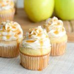 This easy Caramel Apple Cupcakes recipe combines apple cupcakes from scratch with a homemade caramel buttercream frosting to take it over the top and get you ready for all things fall!