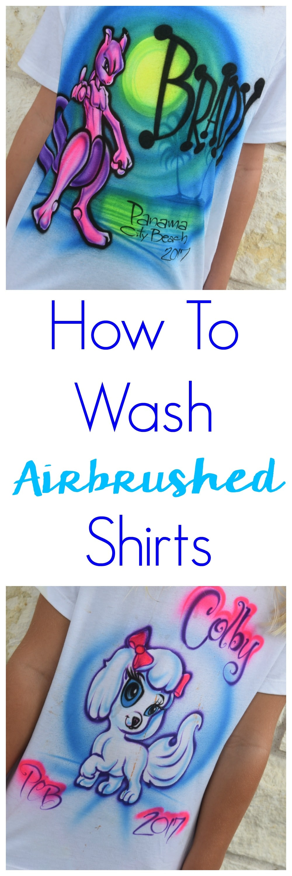 Don't risk ruining the souvenirs you bought to remember your summer vacation. Instead learn how to wash airbrushed shirts and let the memories live on!