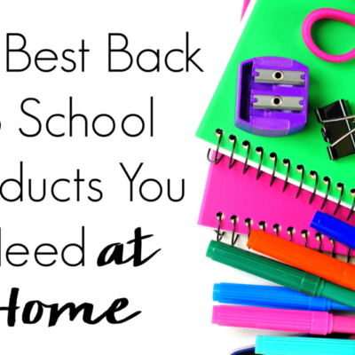 The Best Back to School Products You Need at Home