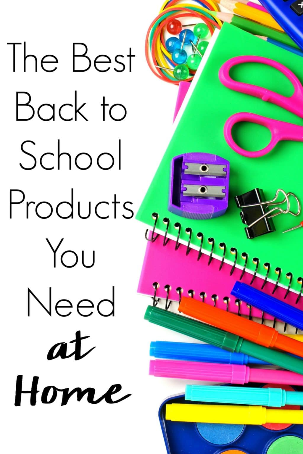 Back to school time is here again. You have a supply list for school but what about after? Check out the Best Back to School Products You Need at Home!