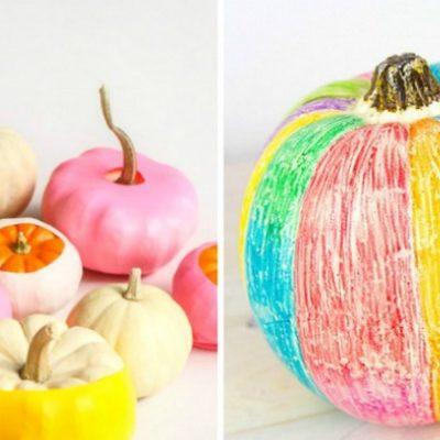 20 No Carving Pumpkin Decorating Ideas