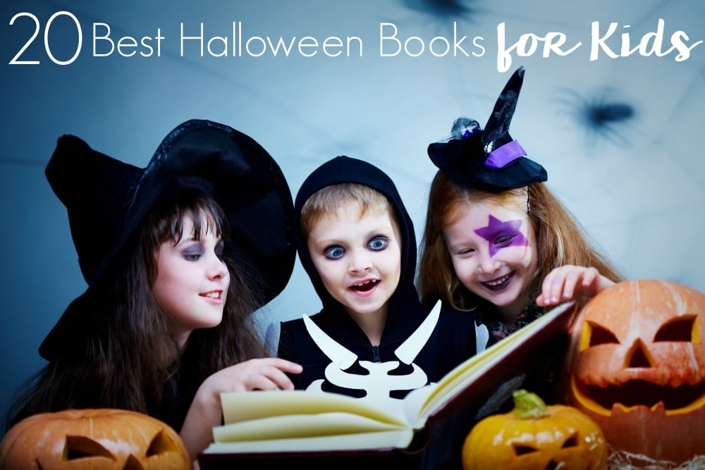 Get your kids excited and in the spirit of all Halloween with books. Here are the 20 Best Halloween Books for Kids that parents will also enjoy!