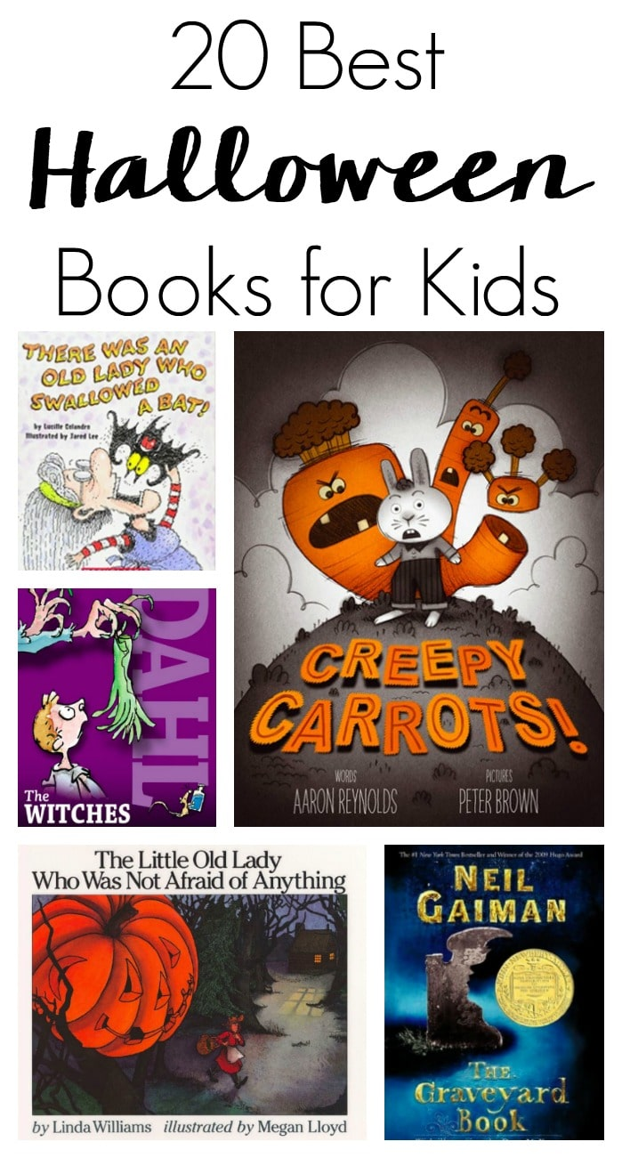 Get your kids excited and in the spirit of all Halloween with books. Here are the 20 Best Halloween Books for Kids that parents will also enjoy! #halloweenbooks #halloweenbooksforkids #halloweenforkids #booksforkids #holidaybooks #holidaybooksforkids