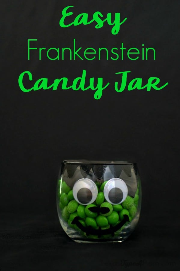 Halloween decorating doesn't have to be hard...even for the craft challenged. This easy Halloween craft features a glass candle jar, candy, paint, tissue paper, and googly eyes...things most parents probably already have laying around the house. Halloween decorating that's frugal and simple.