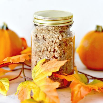 Easy to Make Pumpkin Spice Sugar Scrub Recipe
