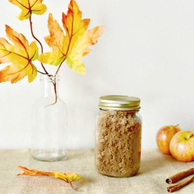 I'm Falling for This Homemade Apple Cinnamon Sugar Scrub Recipe