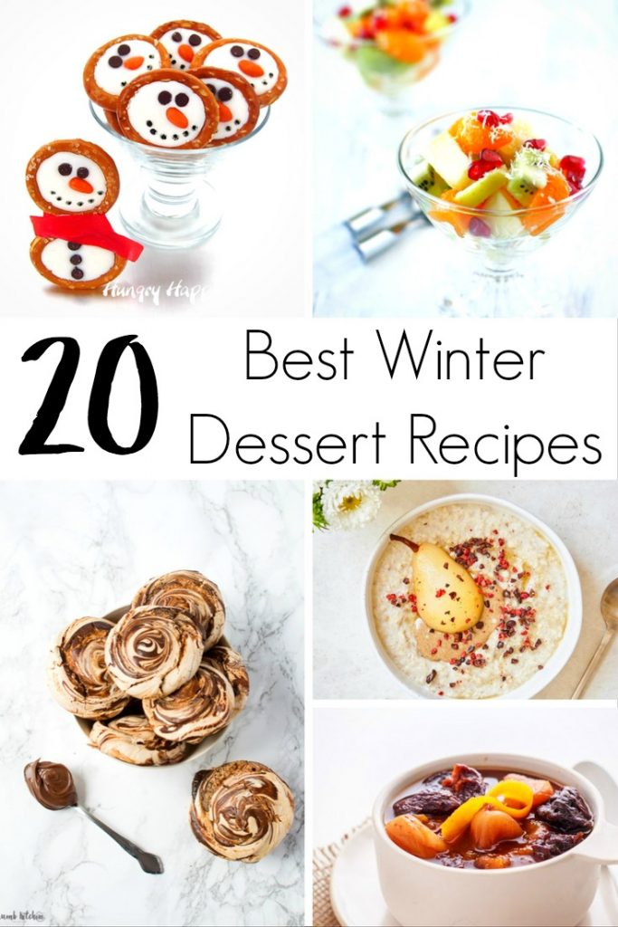 This delicious roundup of the top 20 Best Winter Dessert Recipes are sure to be delicious and perfect for every skill level.