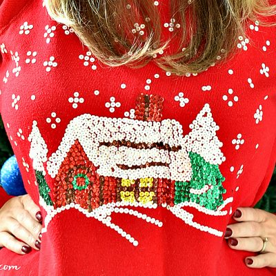 Best Ugly Christmas Sweaters for Women for Parties + Kelley Blue Book Holiday Sweater Sweepstakes
