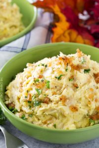 Horseradish Mashed Potatoes Thanksgiving side dish