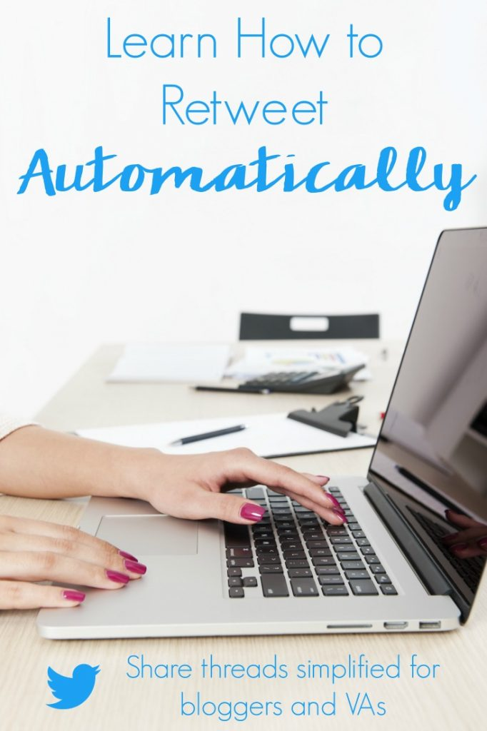 Don't delegate the blogging tasks that can be automated. Instead learn how to retweet automatically on Twitter to share your content and others!