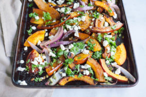 Spicy Roasted Pumpkin Thanksgiving Side Dish