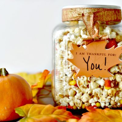Thanksgiving Snack Idea – Thanksgiving Blessing Snack Mix Recipe