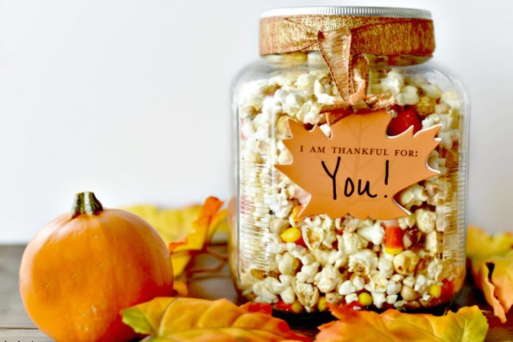 Thanksgiving Blessing Snack Mix Recipe