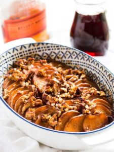 Bourbon Maple Glazed Sweet Potatoes