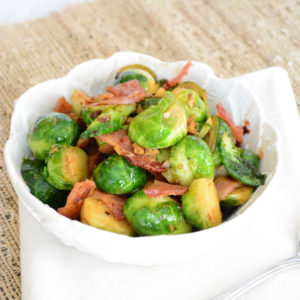 Brussel Sprouts Thanksgiving Side Dish