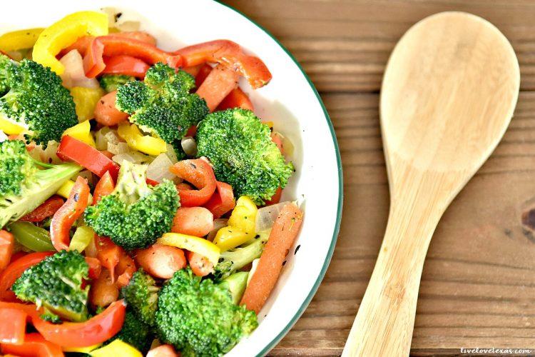 Easy Veggie Side Dish Recipe: Simply Sautéed Vegetables