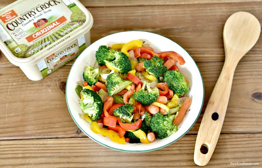 In between holiday feasts, don't complicate entertaining. Pair chicken with this easy veggie side dish recipe of simply sautéed vegetables and you're done.