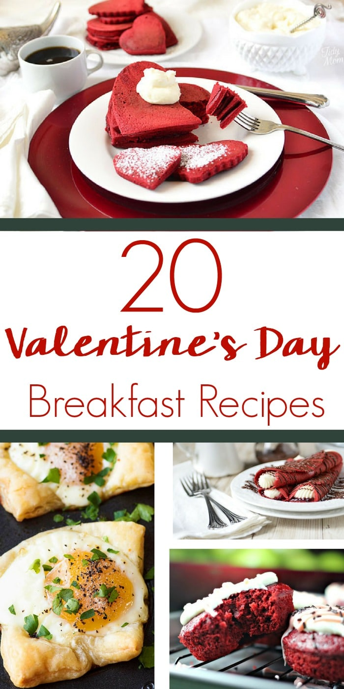Even if you think it's a Hallmark holiday, there's nothing wrong with taking a little extra time to make these breakfast recipes for Valentine's Day and start the day off on a high note!