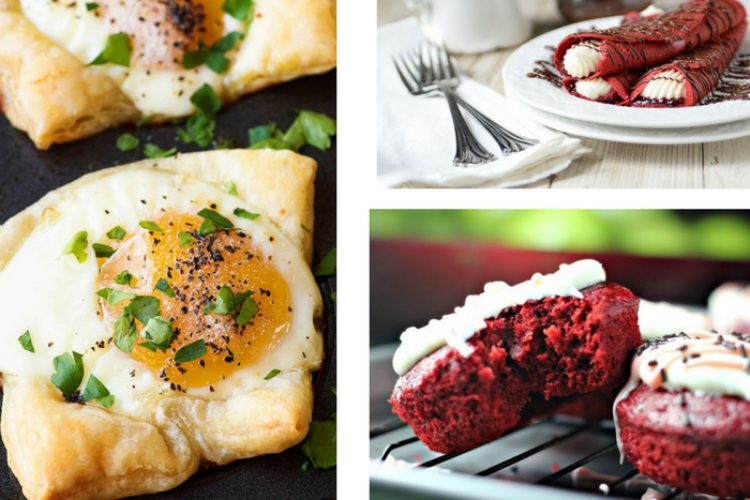 25 Delicious Breakfast Recipes for Valentine's Day